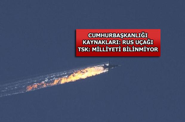 Suriye Türkmen Dağı, Uçağın düşme anı