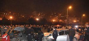 Gaziosmanpaşa'da trafik kazası: 4  kişi yaralı