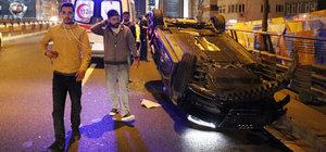 Mecidiyeköy Viyadüğü'nde zincirleme kaza