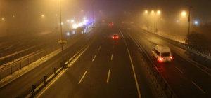 İstanbul'da yoğun sis