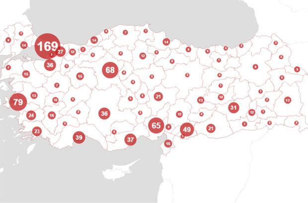 Türkiye'nin en korkunç haritası!