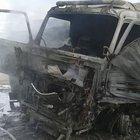 Yerel kaynaklar: Ruslar yardım tırlarına saldırdı