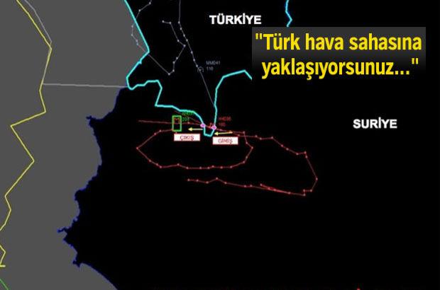Türk F-16'larının sınır ihlali yapan Rus Hava Kuvvetleri'ne ait Sukhoi Su-24 tipi uçağını İngilizce olarak uyardığı ses kayıtlarından çıktı.