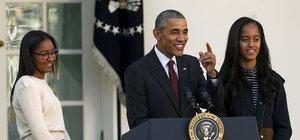 Obama, Şükran Günü hindilerini affetti