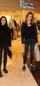 Sinem Kobal ve Cemre Kemer'in alışveriş turu