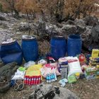 Batman'da PKK'ya ait 4 sığınak bulundu