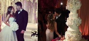 Ve beklenen düğün gerçekleşti