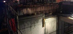 Metro inşaatında yüksekten düşen işçi öldü