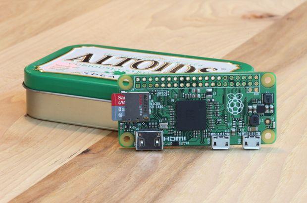 Raspberry Pi Zero satışa çıktı
