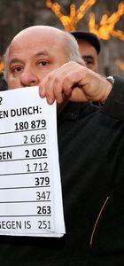 Berlin'de Bayırbucak protestosu