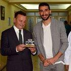 Mehmet Topal'ın 'onur' günü