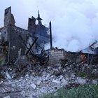 Zonguldak'ta iki ev yangında kül oldu
