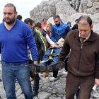 Zonguldak'ta manzarayı izlerken denize düştü