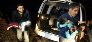 Ayvacık ve Bodrum'da kaçak faciası