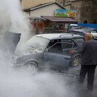 Trabzon Rus Konsolosluğu önünde panik yaşandı