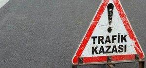Kayseri'de polis aracı kazaya karıştı: 3 yaralı