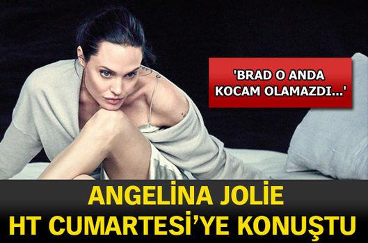 Angelina Jolie, HT Cumartesi'ye konuştu!