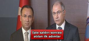 Efkan Ala ve Bekir Bozdağ'dan Tahir Elçi açıklaması