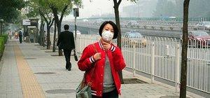 Çin'de havadaki zararlı partikül oranı 400'ü aştı