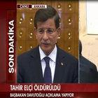 Davutoğlu'ndan Tahir Elçi açıklaması: İki ihtimal var