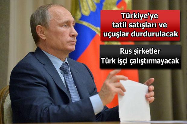 Putin kararnameyi imzaladı!