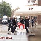 Şehit polisler Ahmet Çiftaslan ve Cengiz Erdur'a veda