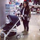 Nur Fettahoğlu bebek alışverişinde