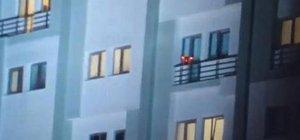 Drone'li tacizci yakalandı