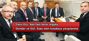 Davutoğlu: Güvenoyu sonrası Kılıçdaroğlu ve Bahçeli'yi ziyaret edeceğim