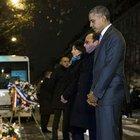 ABD Başkanı Obama, Bataclan konser salonuna gül bıraktı