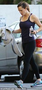 Ben Affleck ve Jennifer Garner teselliyi sporda buldu