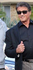 Sylvester Stallone'nin keyfi yerinde