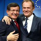 AB ile Türkiye'nin vardığı anlaşma dünya basınında