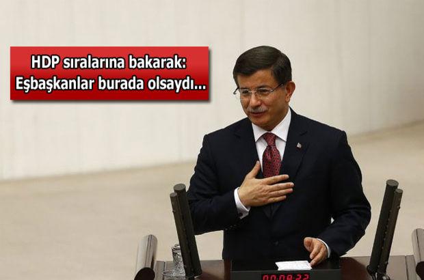 Davutoğlu'ndan CHP ve MHP'ye: Güzel bir başlangıç yaptık