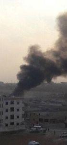 Rus uçakları Azez'i bombaladı