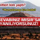 Gizlenen Türk piramitleri!