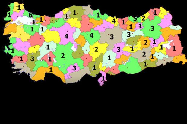 Türkiye'yi bu iller yönetiyor