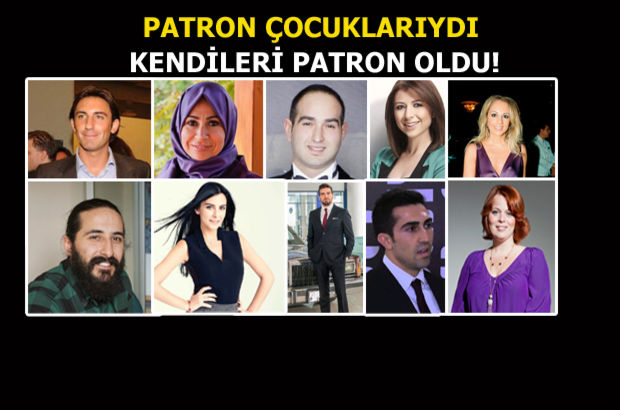 Türk iş dünyasının veliahtları!