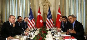 Erdoğan ve Obama Paris'te görüştü