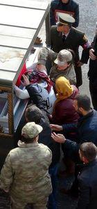 Şehit uzman çavuş Sezer Aydemir son yolculuğuna uğurlandı