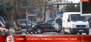 Sofya'da bir kamyonette patlayıcı bulundu