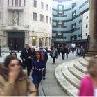 BBC binasında bomba paniği