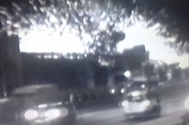 Bayrampaşa'daki, patlma anı kameralarda