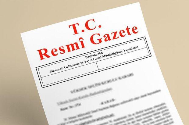 64. Hükümet'in güvenoyu Resmi Gazete'de