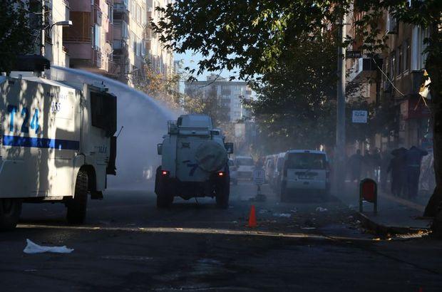 Sur'da olaylar! Polis müdahale etti
