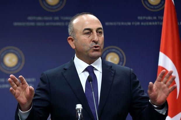 Rus Tass Ajansı'na konuşan Dışişleri Bakanı Çavuşoğlu Rus hükümetini itidale davet etti