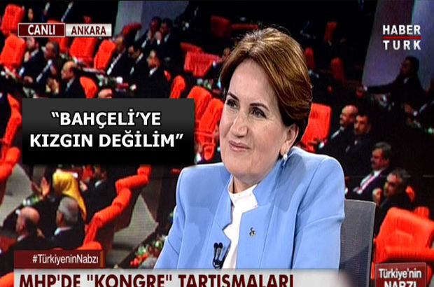 Meral Akşener, Habertürk TV'de soruları yanıtlıyor