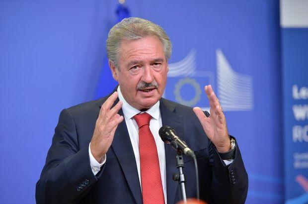Avrupa Birliği Dönem Başkanı Lüksemburg'un Dışişleri Bakanı Jean Asselborn AB'nin Türkiye ile vardığı anlaşma gereğince Türkiye'deki sığınmacı kamplarından 50 bin kişinin alınabileceğini söyledi