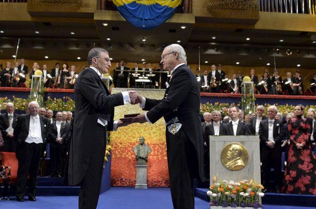 Nobel Kimya Ödülü Aziz Sancar