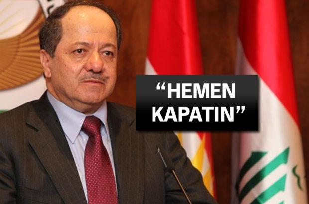 Barzani'den HDP'ye 'Hendek' çağrısı!